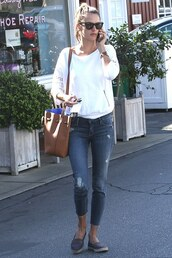 jeans,alessandra ambrosio,flats,jacket,shoes