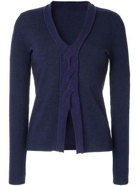Onefifteen top knitted top women blue