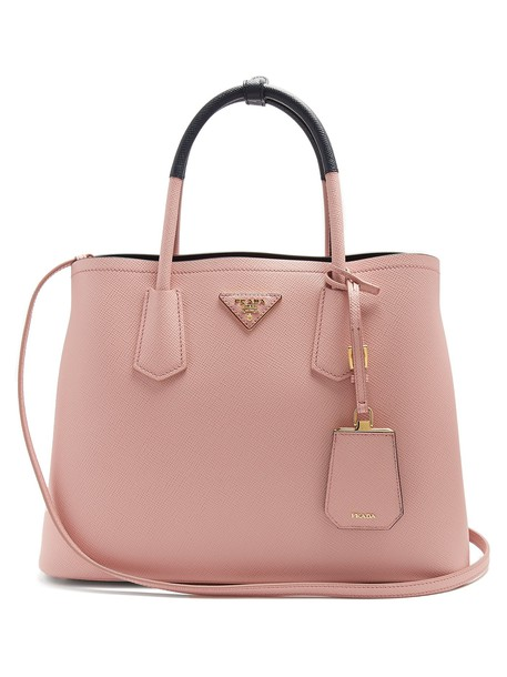bag leather bag leather navy pink
