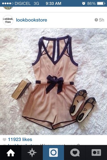 shorts jumper romper