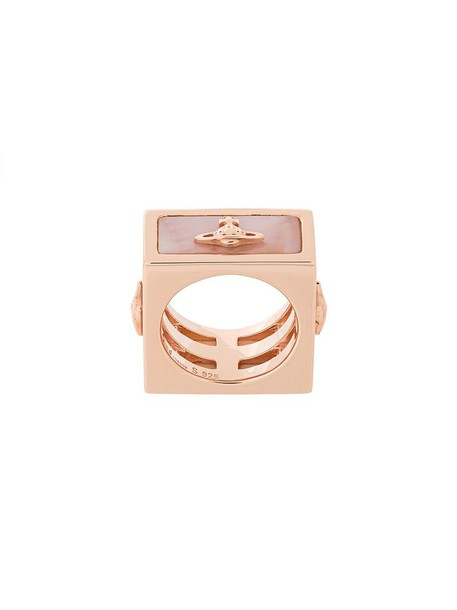 VIVIENNE WESTWOOD RED LABEL metallic women ring jewels