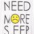 White Sleeveless NEED MORE SLEEP Print T-Shirt - Sheinside.com