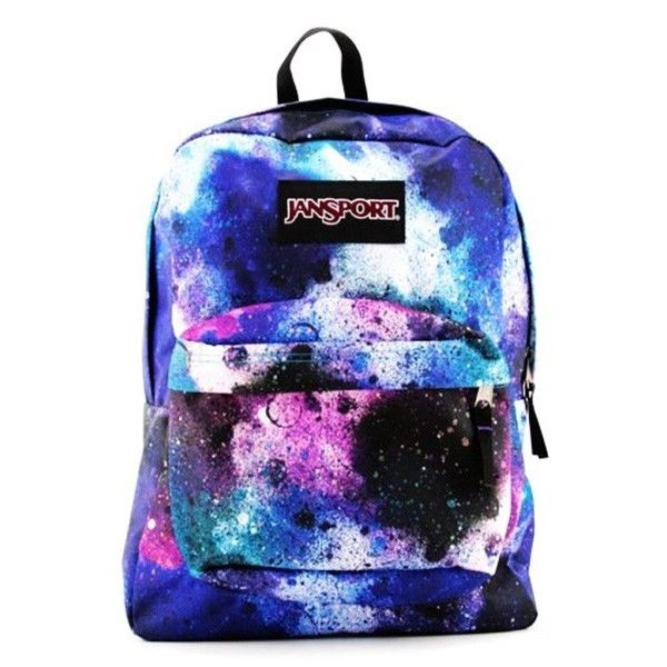 JanSport Superbreak Backpack Daypack School Bookbag Cool Galaxy NWT T501 9JA