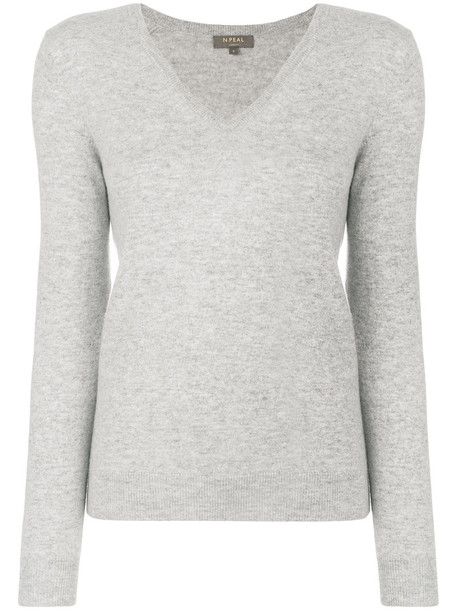 N.Peal jumper women grey sweater
