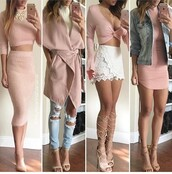 skirt,pink,pencil skirt,pink skirt,high waisted skirt,two-piece,two piece dress set,outfit,outfit idea,summer outfits,cute outfits,fall outfits,spring outfits,date outfit,party outfits,clubwear,fashion,style,stylish,clothes,top,summer top,cute top,crop tops,pink top,pink dress,pink coat,dress,summer dress,cute dress,bodycon dress,short dress,sexy dress,party dress,sexy party dresses,party shoes,sexy shoes,cute shoes,cute high heels,cute skirt,heels,high heels,nude heels,strappy heels,lace up heels,nude high heels,ankle strap heels,pointed toe pumps,pointed toe,summer shoes,coat,winter coat,long coat,fall coat,wool coat,long sleeves,long sleeve crop top,jacket,denim jacket,spring jacket,necklace,statement necklace,mini skirt,white skirt,turtleneck,turtleneck sweater,jeans,ripped jeans,skinny jeans,blue jeans,light blue jeans