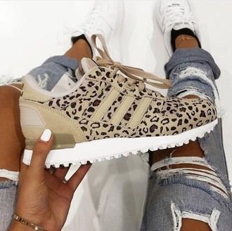 shoes trainers leopard print leopard print shoes adidas