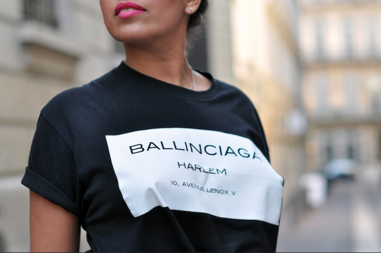BALLINCIAGA HARLEM T-SHIRT  / Big Momma Thang