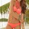 Front plunge bikini