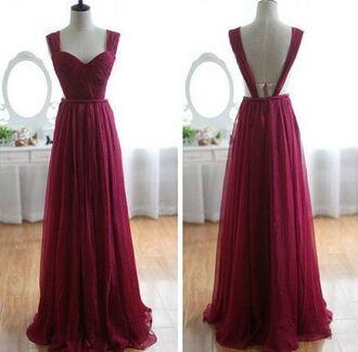 dress prom dress red dress