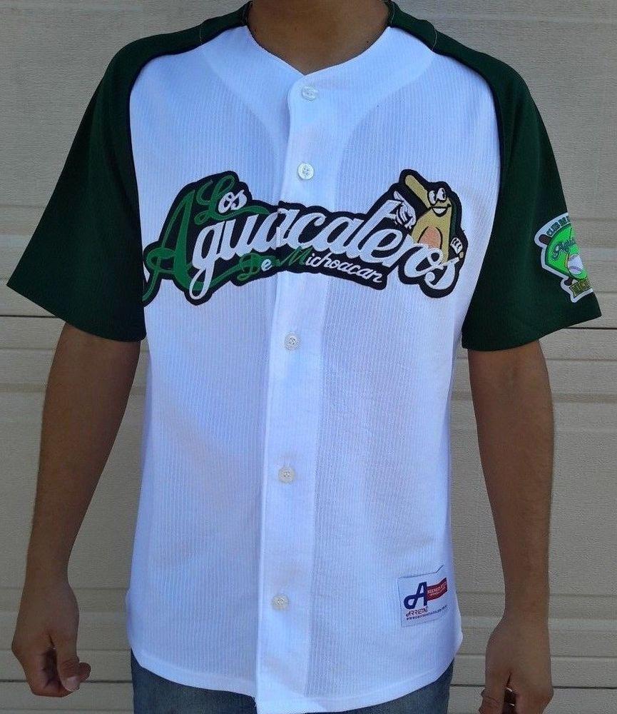 Los aguacateros de michoacan mexico baseball league player jersey nwt by arrieta