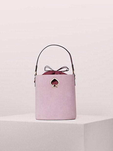 Kate Spade Suzy Suede Small Bucket Bag, Orchid