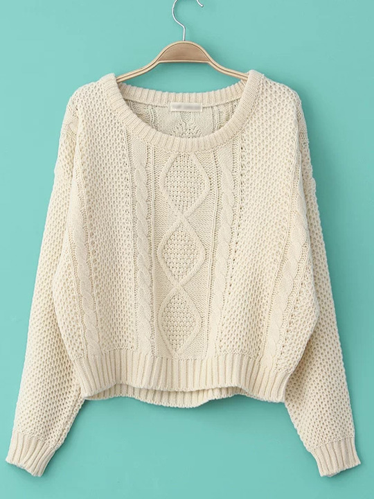 Knit pullover sweaters