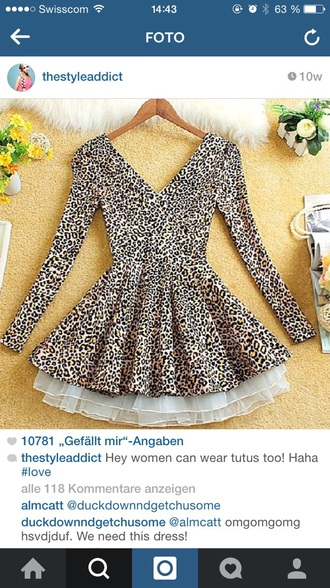 dress leopard print animal print thestyleaddict tutu instagram leopard print high heels animal prints animal clothing bag cute cute dress! party dress party outfits costume need help!! white pale hat shoes high heels