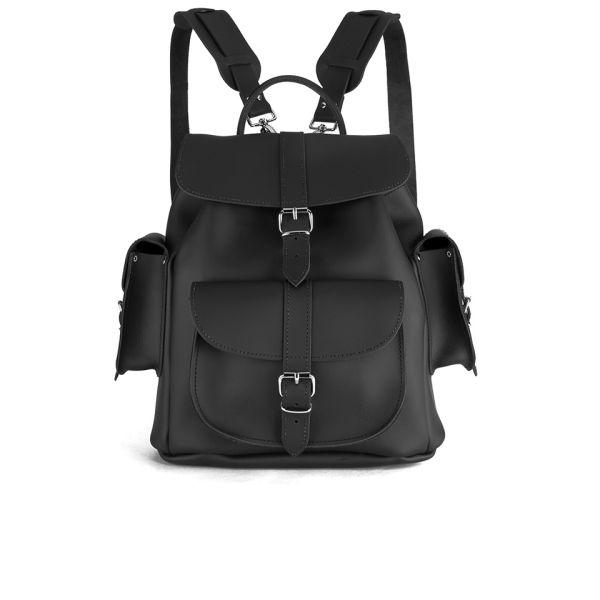 Grafea show business medium leather rucksack