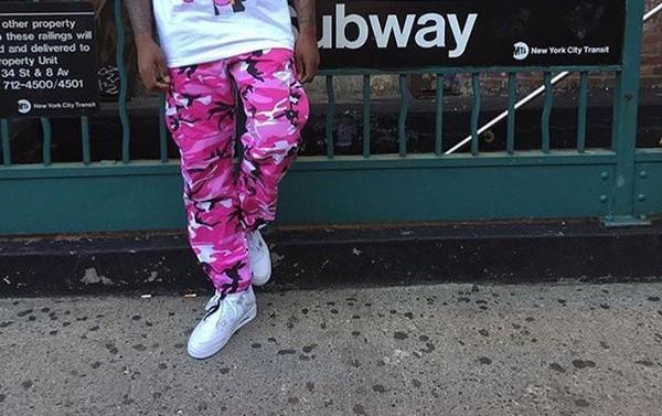 6558f22b3f6 Pink Nikki Camo Pants