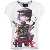 t-shirt,gorillaz,noodles,jazz,pop punk,punk rock,grunge,punk/grunge/raver