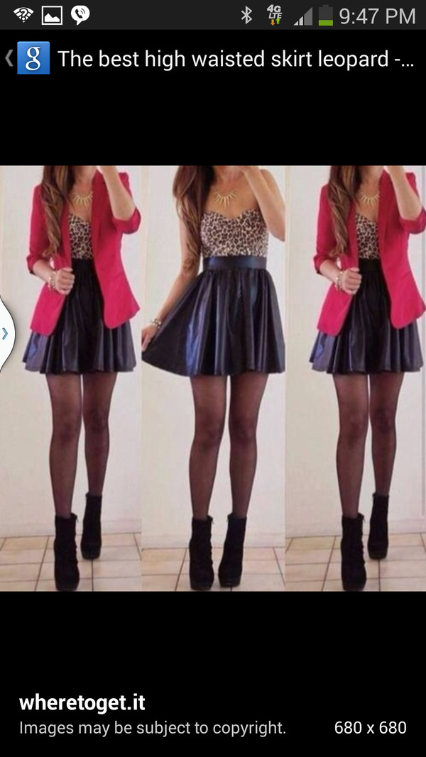 jacket skirt dress