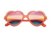 sunglasses,red sunglasses,sunnies,heart sunglasses,rainbow
