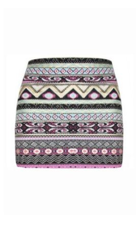 Amazon.com: womens gold mint pink foil aztec mini skirt (mia) (4/6 (uk 8/10), gold/mint/pink): clothing