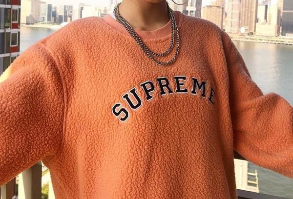 top lr1200neonpink orange shirt loren beech supreme