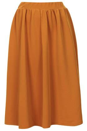 Texture Jersey Midi Skirt- Topshop