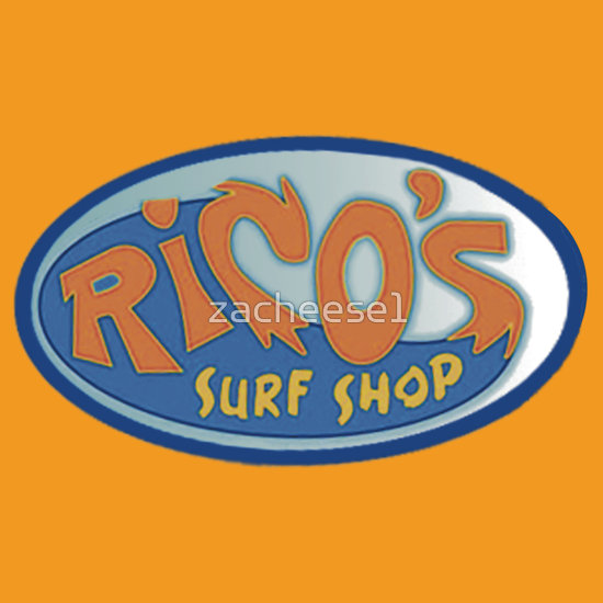 Quot Rico S Surf Shop Quot T Shirts Amp Hoodies By Zacheese1 Redbubble