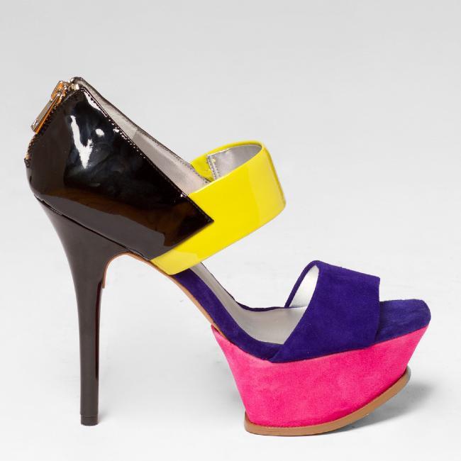 Jessica Simpson VADIO Sandal in Purple Multi – FLYJANE