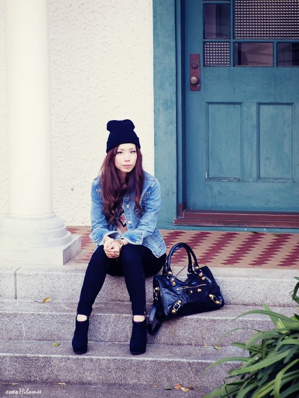 xoxo hilamee jacket sweater t-shirt pants shoes hat bag