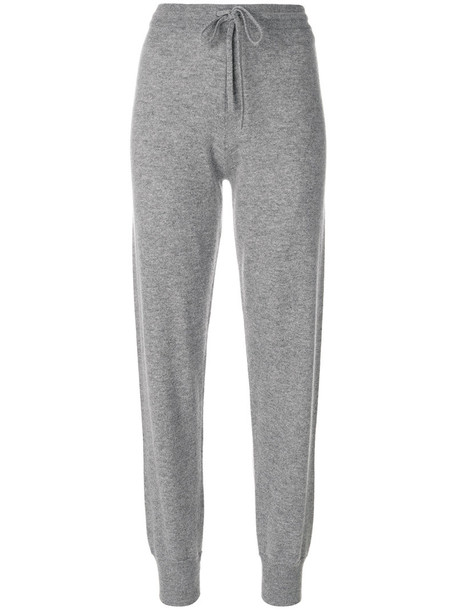theory pants track pants women grey