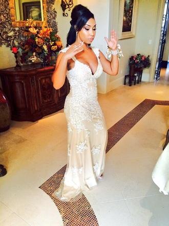 dress nude dress long prom dress prom dress sparkly dress lace dress