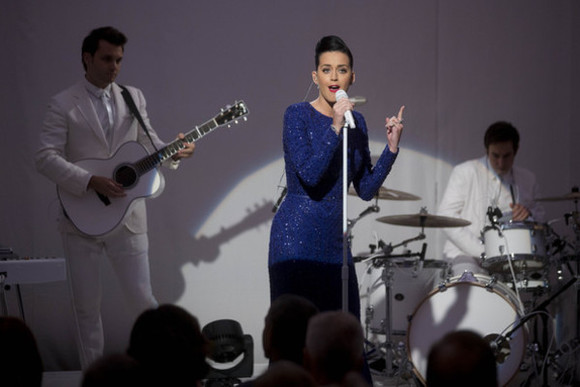 katy perry dress blue dress