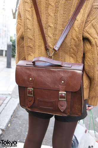 bag satchel bag satchel backpack brown leather satchel
