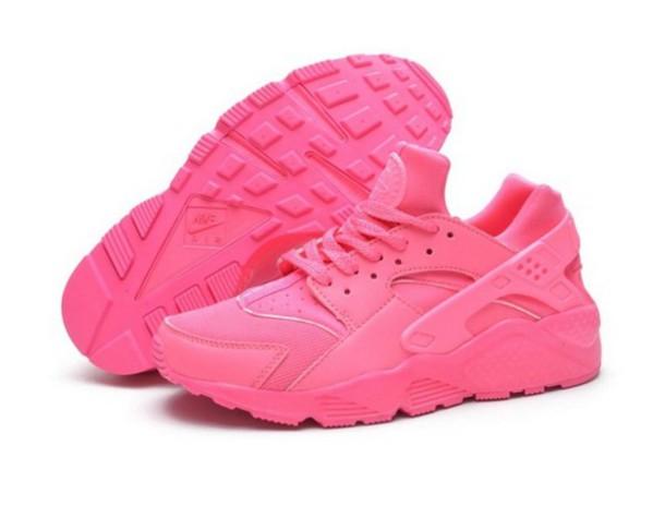 87331e0f1520 all hot pink huaraches 7m1riq l 610x610 shoes pink hot pink nike air ...