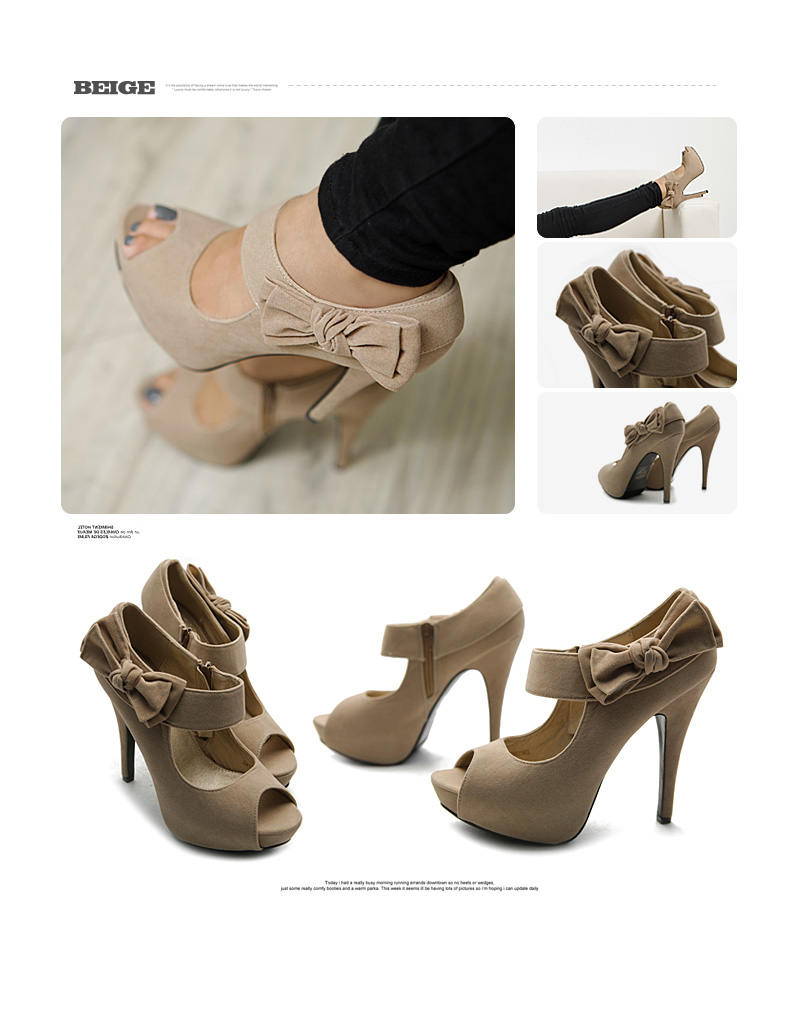 White High Heel Shoes For Women Ollio womens pumps platform