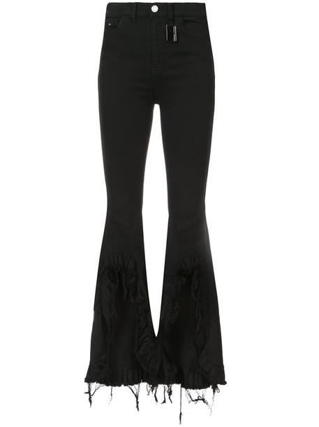 Thomas Wylde jeans women spandex cotton black