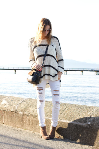 jewels bag jeans blogger styling my life white jeans