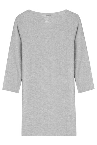 top cropped grey