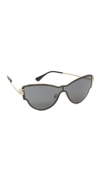 sunglasses gold grey