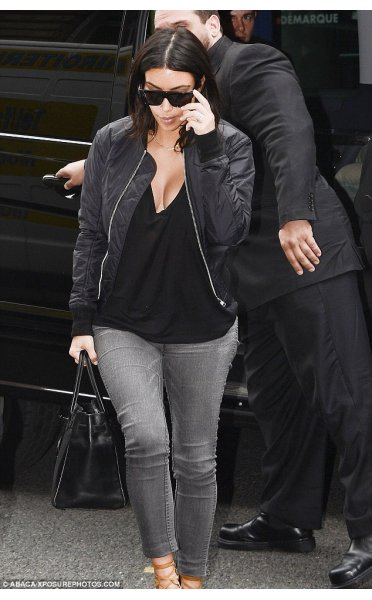 Celeb Inspired Black Bomber Jacket From The Fashion Bible Uk
