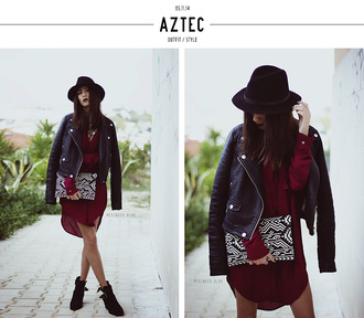 jacket perfecto jewels bag blouse blogger fall outfits mexiquer pouch