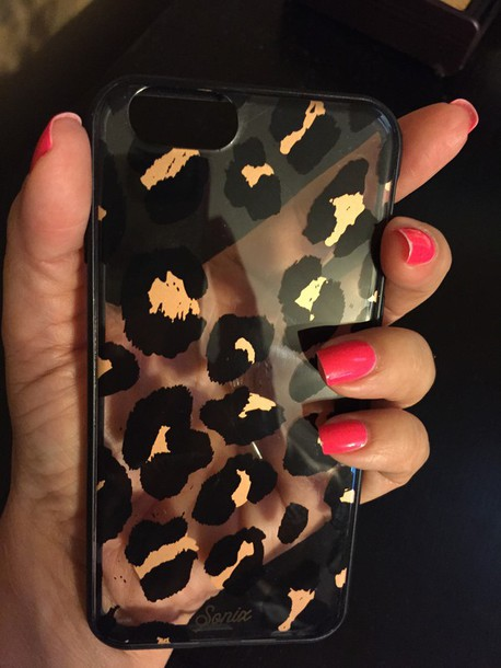 phone cover black gold and clear