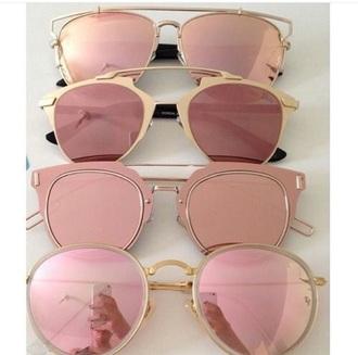 sunglasses rose gold glasses accessory summer fashion accessory