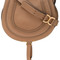 Chloé - marcie satchel - women - calf leather - one size, brown, calf leather