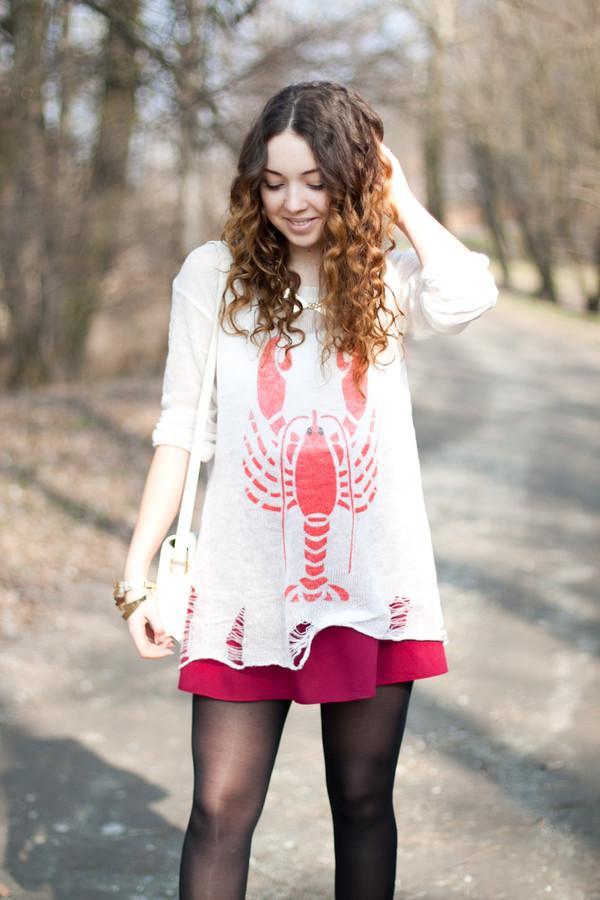 kolorowa dusza sweater shoes jacket skirt bag jewels