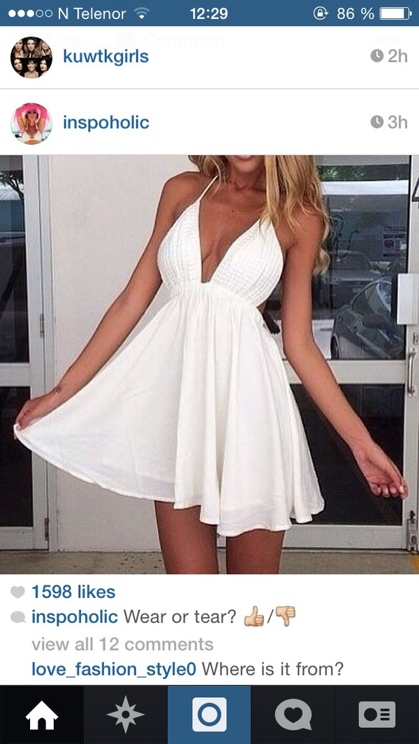 dress white summer