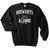 Howarts Alumni black sweatshirt - Basic tees shop