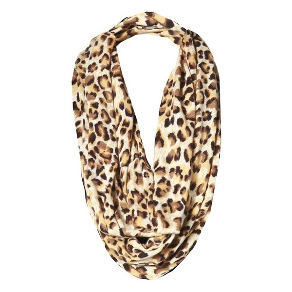 My Style / Alice   Olivia Leopard Print Infinity Scarf ($198... - Polyvore