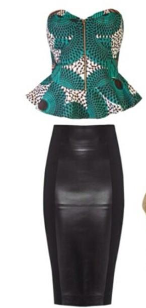 skirt noir