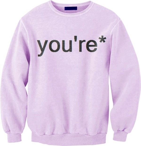 Sweater: pink, sweatshirt, pullover, pull, over, pullover ...