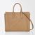 Leather Tote Bag, tobacco - CLA02 Max Mara